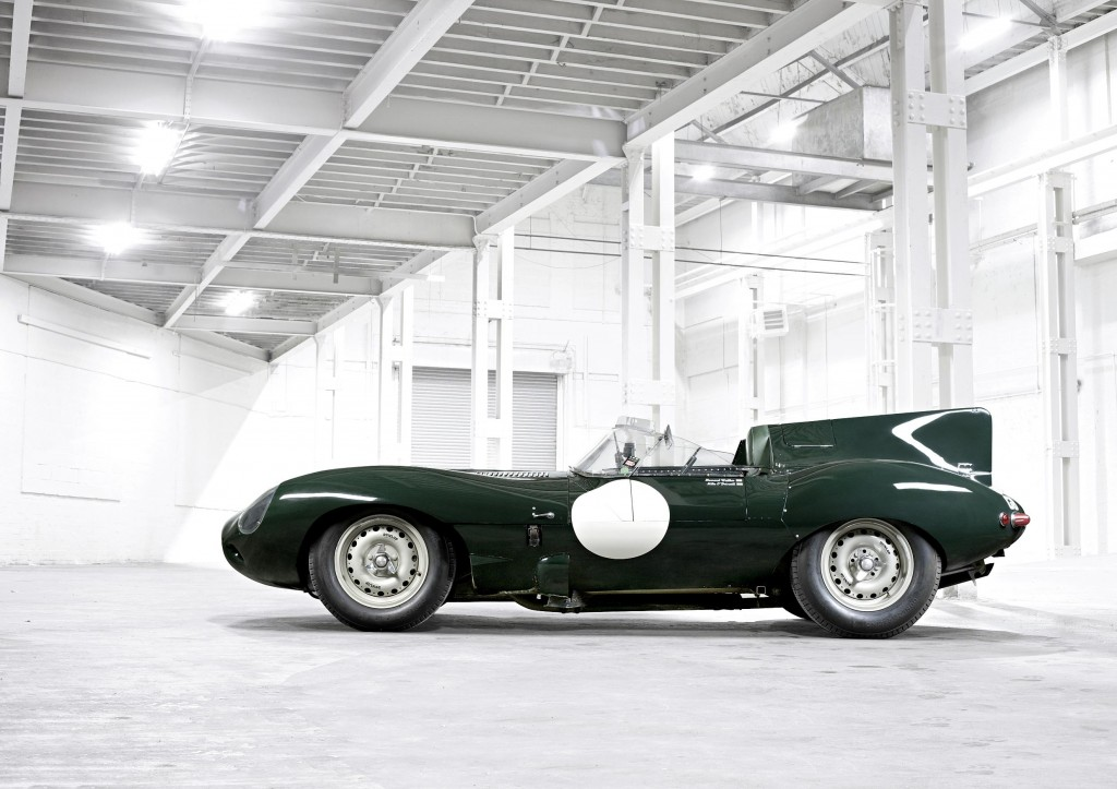 British Racing Green Jaguar D Type