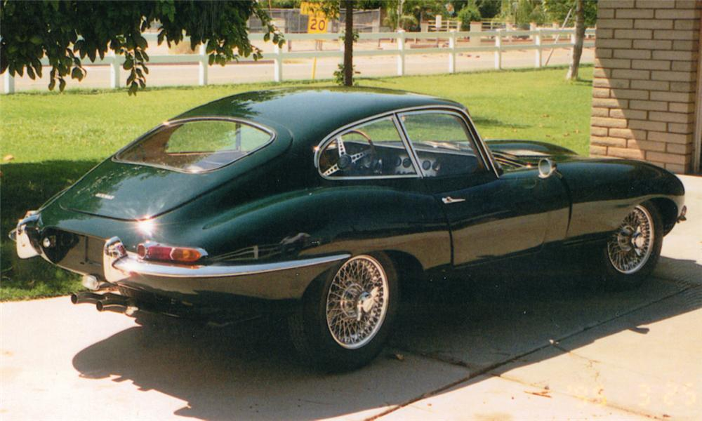 British Racing Green Jaguar E Type
