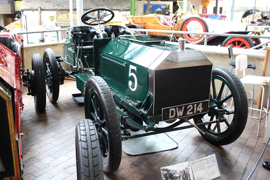 British Racing Green Napier 1903