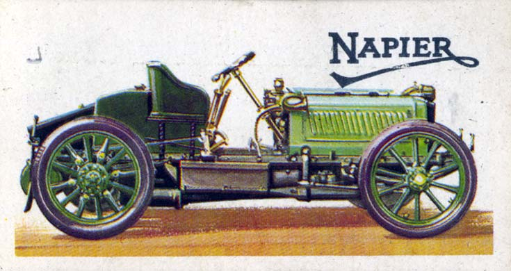 British Racing Green Napier