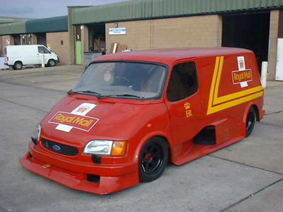 Ford Transit Supervan Royal Mail