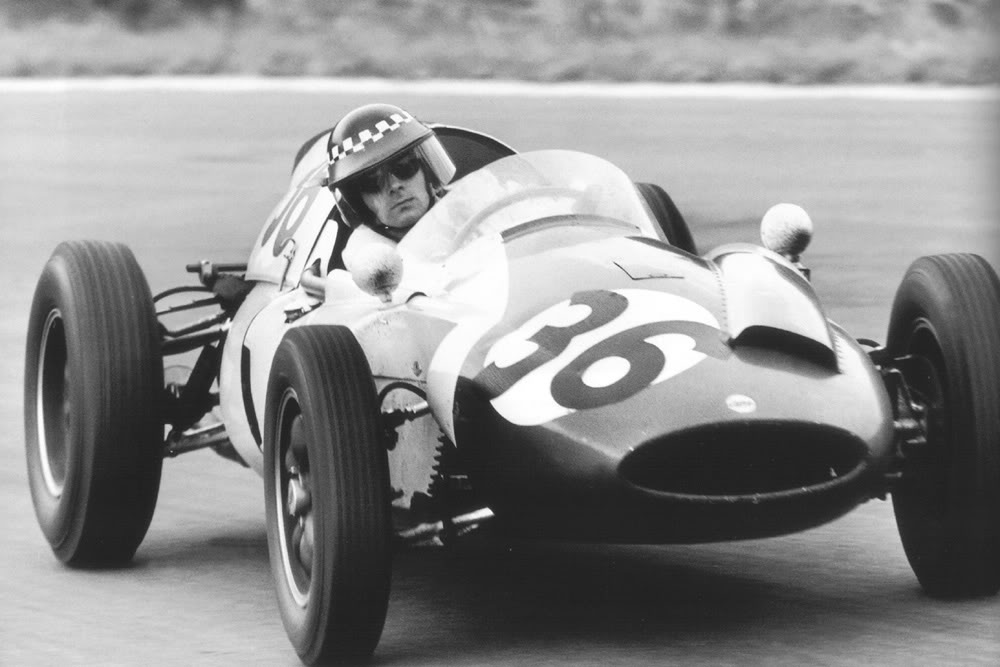 Formula 1 1960 Spa Chris Bristow