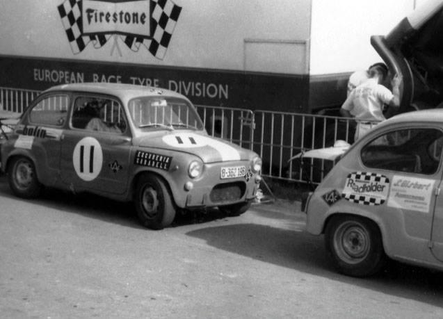 Manuel Juncosa Seat Circuito Montjuic 1969 4