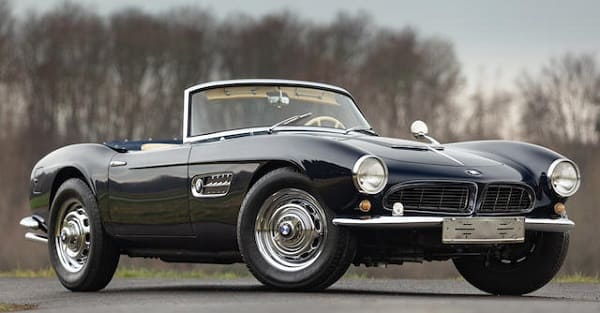 bmw 507 frontal