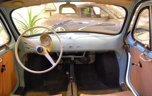 fiat 500 topolino 1930 interior