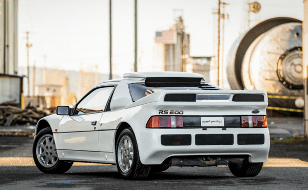 ford rs200 back