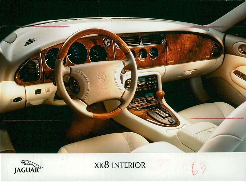 jaguar xk8 interior