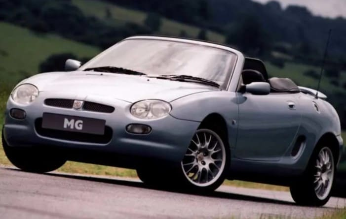 mg mgf coches clasicos