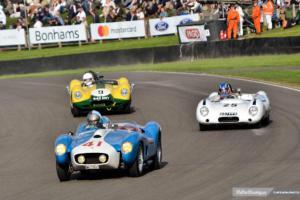 Tres maravillosos autos de sport de los años cincuenta